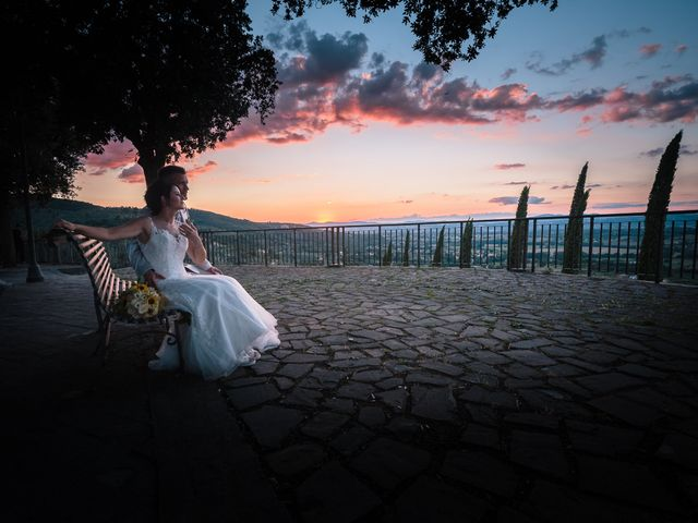 Il matrimonio di Giorgio e Lucia a Torgiano, Perugia 32