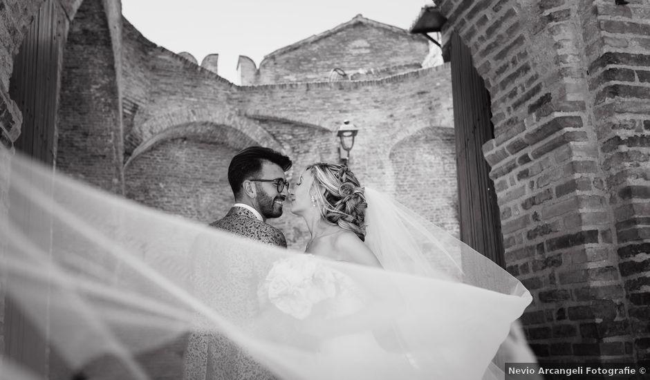 Il matrimonio di Camilla e Paolo a Corinaldo, Ancona