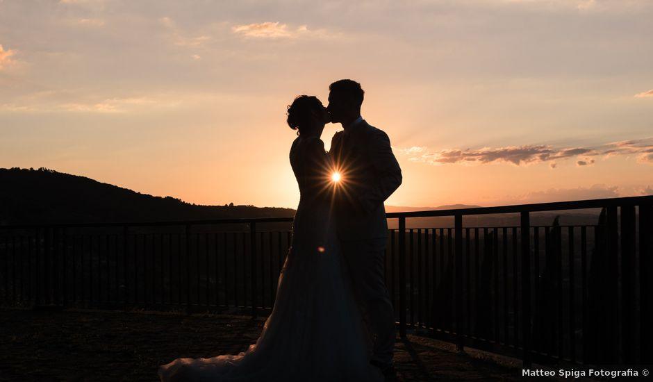 Il matrimonio di Giorgio e Lucia a Torgiano, Perugia