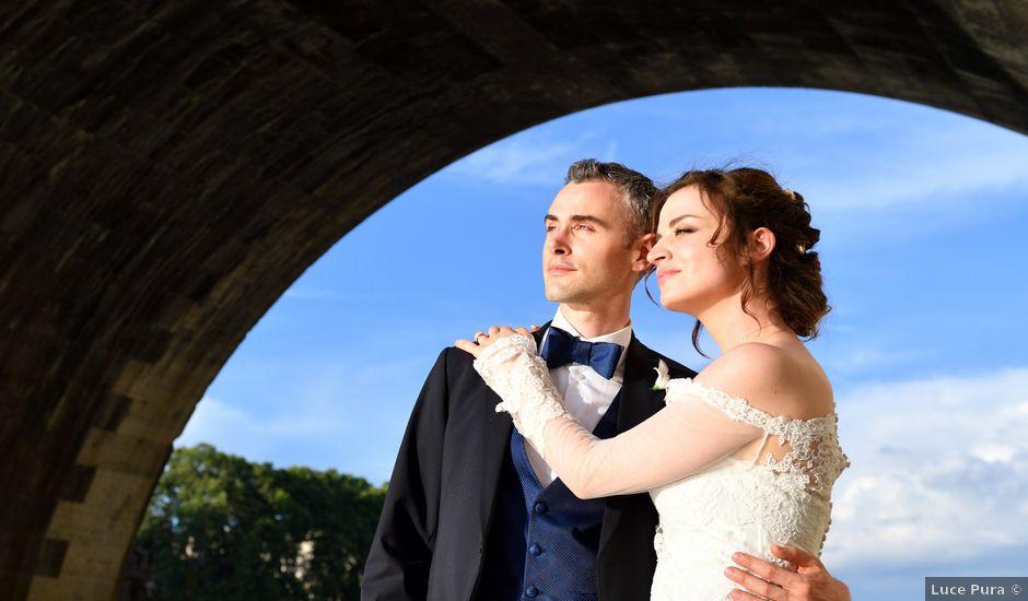 Il matrimonio di Sara e Flavio a Roma, Roma