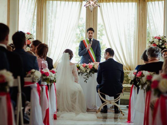 Il matrimonio di Tommaso e Marija a Sutri, Viterbo 8