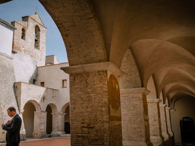 Il matrimonio di Raffaele e Federica a Lucera, Foggia 9