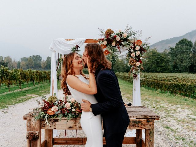 Le nozze di Taylor e Andrea
