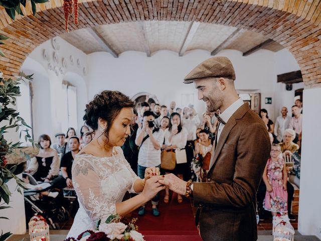 Il matrimonio di Marco e Path a Impruneta, Firenze 22
