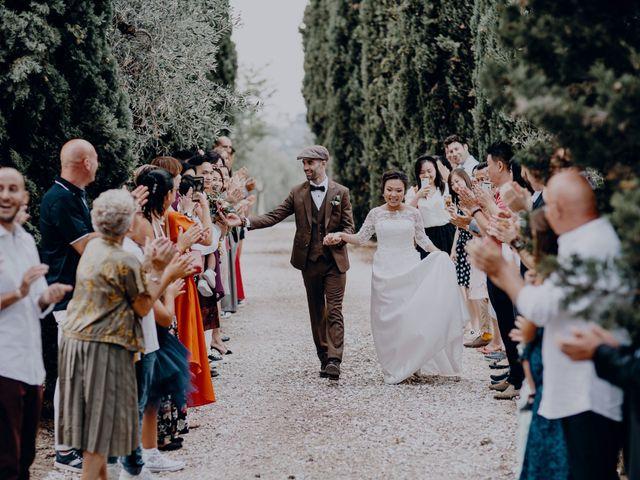 Il matrimonio di Marco e Path a Impruneta, Firenze 1