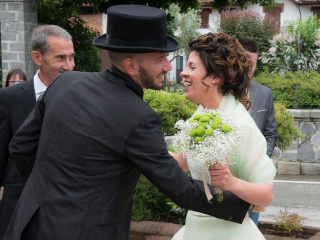 Il matrimonio di Massimiliano e Sonia a Verrone, Biella 7