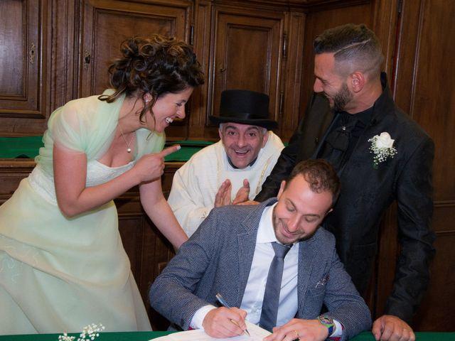 Il matrimonio di Massimiliano e Sonia a Verrone, Biella 11