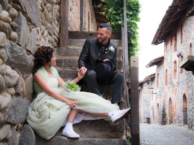 Il matrimonio di Massimiliano e Sonia a Verrone, Biella 17