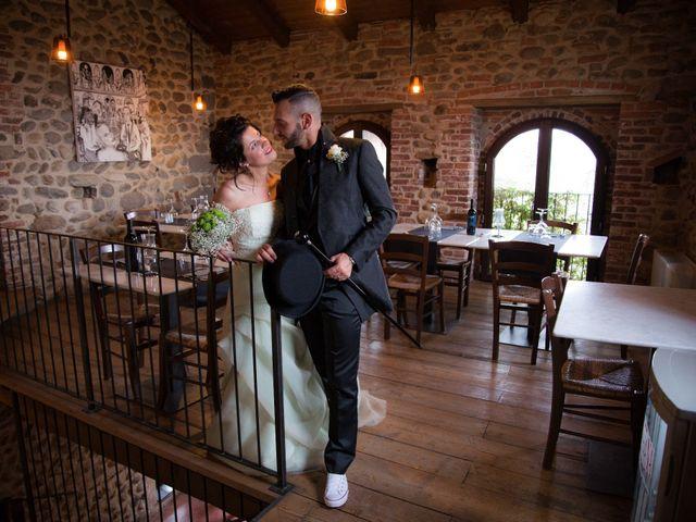 Il matrimonio di Massimiliano e Sonia a Verrone, Biella 18