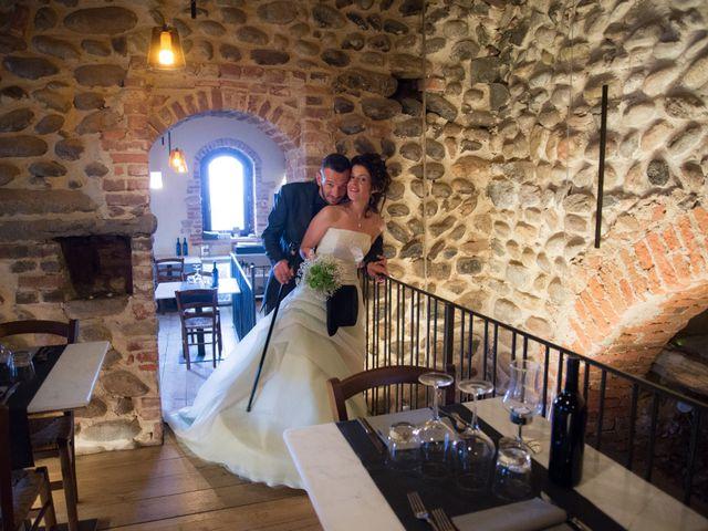 Il matrimonio di Massimiliano e Sonia a Verrone, Biella 21