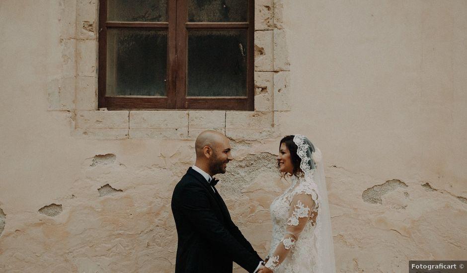 Il matrimonio di Paolo e Maria a Noto, Siracusa