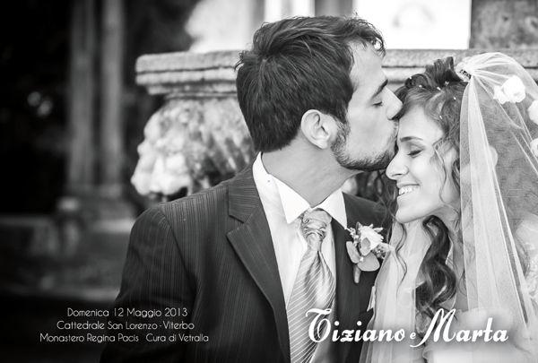 Il matrimonio di Marta e Tiziano a Viterbo, Viterbo