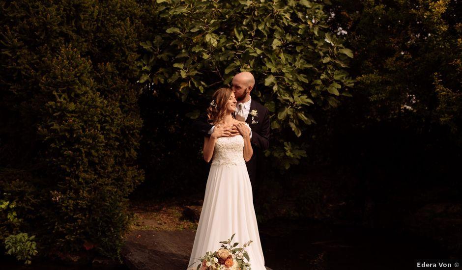 Il matrimonio di Eugenio e Elena a Montello, Bergamo