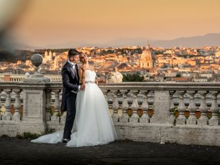 Le nozze di Alberto e Federica