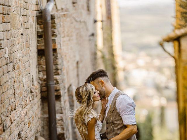 Il matrimonio di Simone e Irene a Barberino Val d'Elsa, Firenze 27