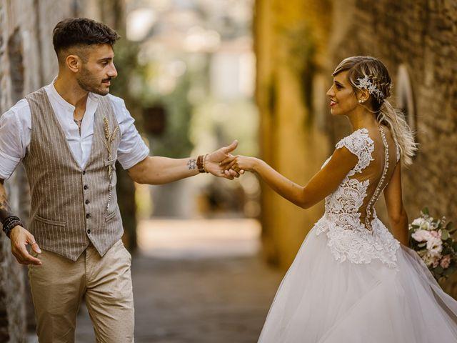 Il matrimonio di Simone e Irene a Barberino Val d'Elsa, Firenze 28
