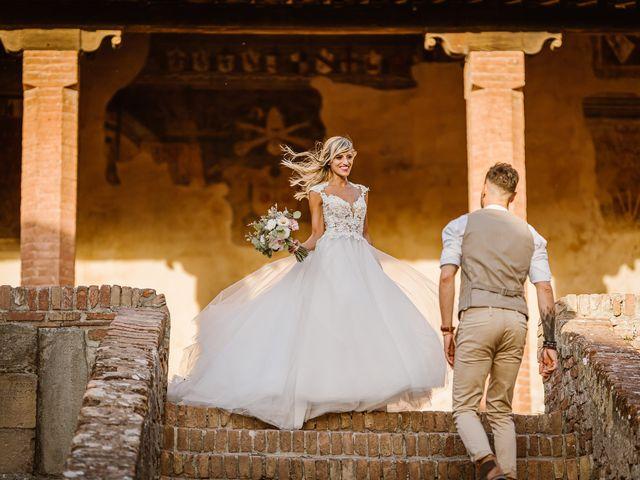 Il matrimonio di Simone e Irene a Barberino Val d'Elsa, Firenze 33