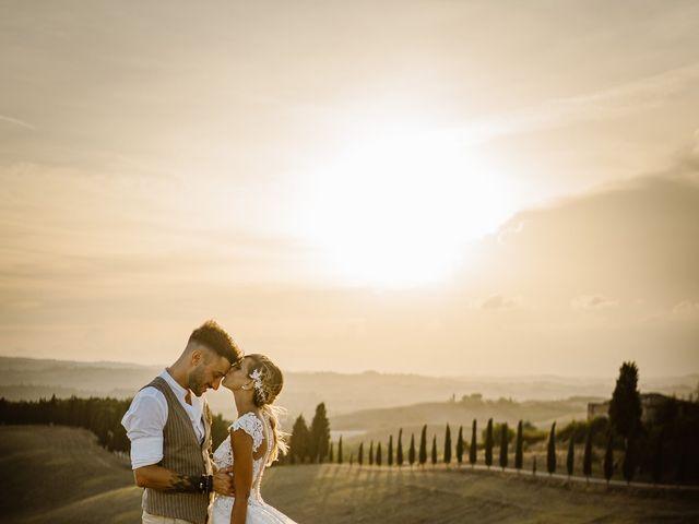 Il matrimonio di Simone e Irene a Barberino Val d'Elsa, Firenze 1