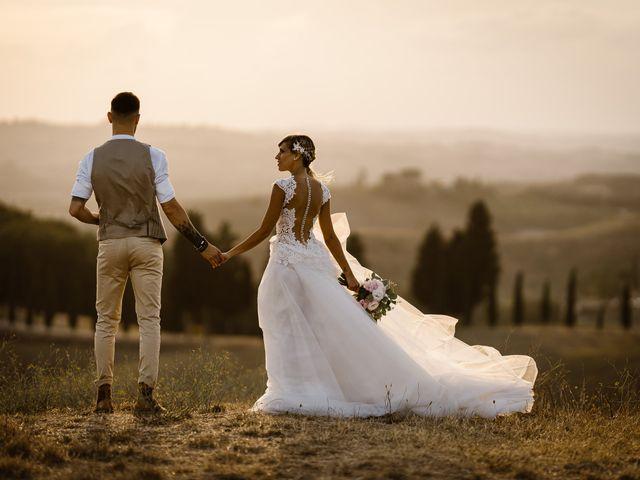 Il matrimonio di Simone e Irene a Barberino Val d'Elsa, Firenze 37