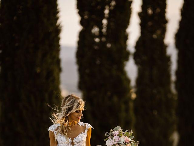 Il matrimonio di Simone e Irene a Barberino Val d'Elsa, Firenze 45