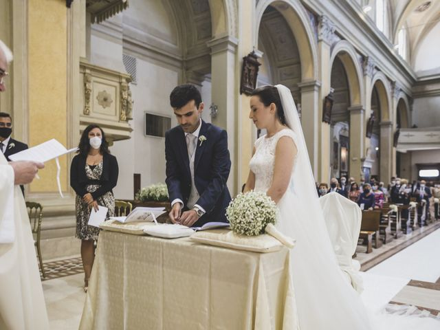 Il matrimonio di Luca e Chiara a Belgioioso, Pavia 34