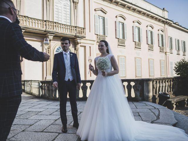 Il matrimonio di Luca e Chiara a Belgioioso, Pavia 41