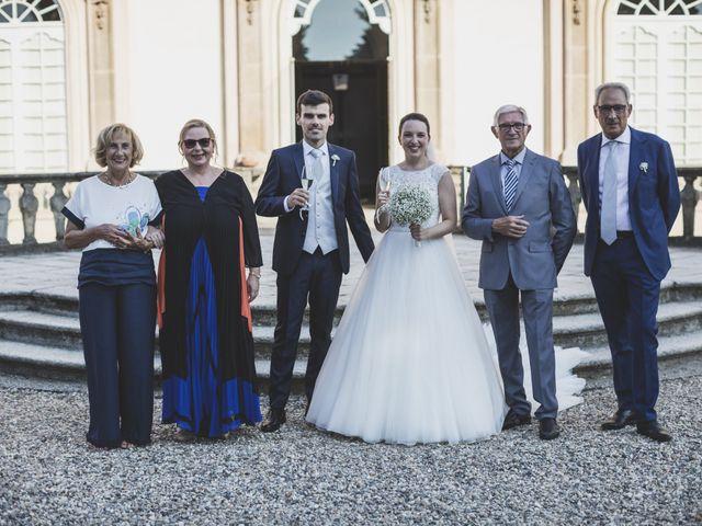 Il matrimonio di Luca e Chiara a Belgioioso, Pavia 43