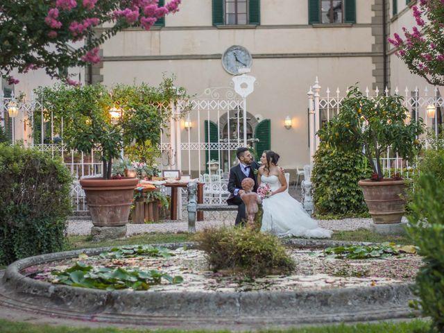 Il matrimonio di Alessio e Sirena a Quarrata, Pistoia 80