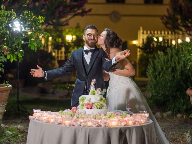 Il matrimonio di Alessio e Sirena a Quarrata, Pistoia 89