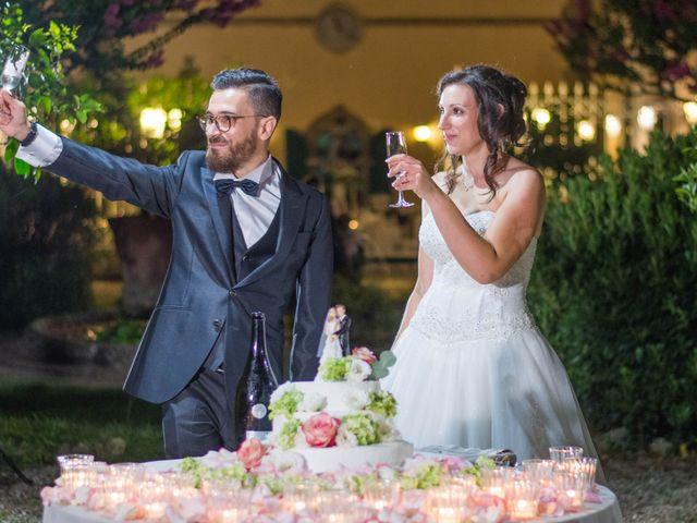 Il matrimonio di Alessio e Sirena a Quarrata, Pistoia 92