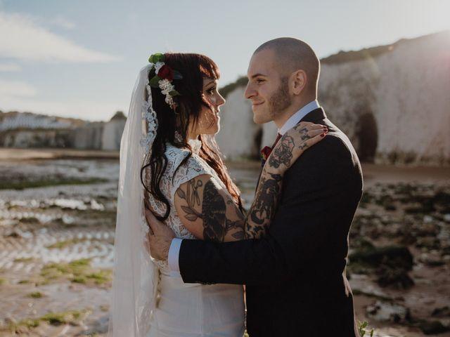 Le nozze di Kim e Roman