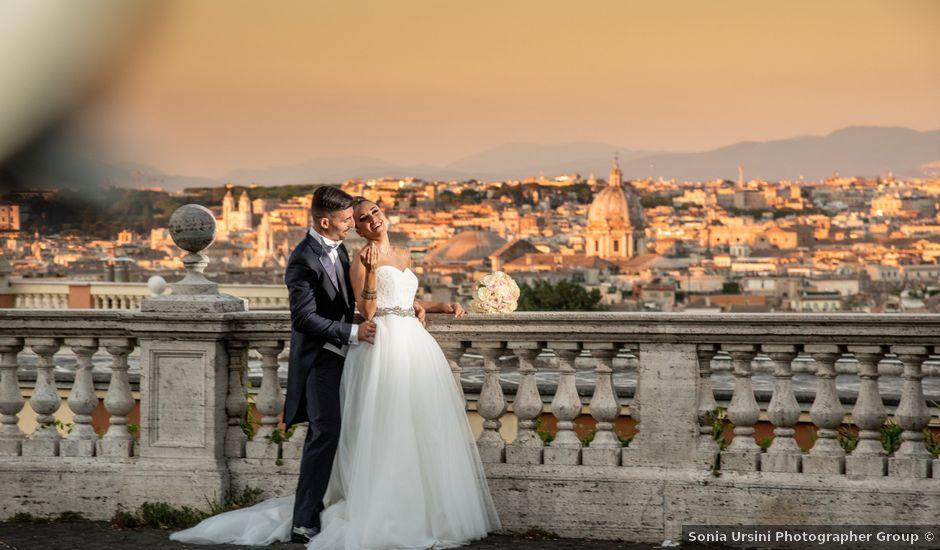 Il matrimonio di Federica e Alberto a Roma, Roma