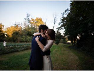 Le nozze di Audrey e Micael