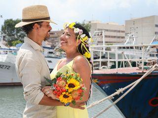 Le nozze di Laura e Felipe