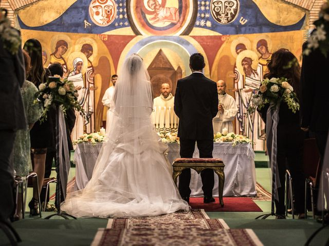 le nozze di Davide e Maria José