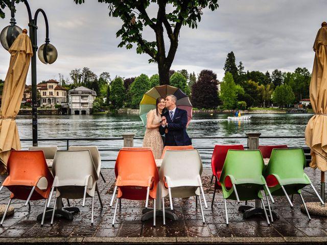 Il matrimonio di Alessandro e Estefania a Sesto Calende, Varese 24