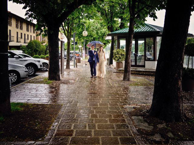 Il matrimonio di Alessandro e Estefania a Sesto Calende, Varese 33