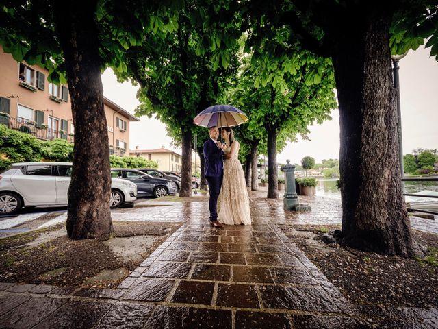 Il matrimonio di Alessandro e Estefania a Sesto Calende, Varese 34