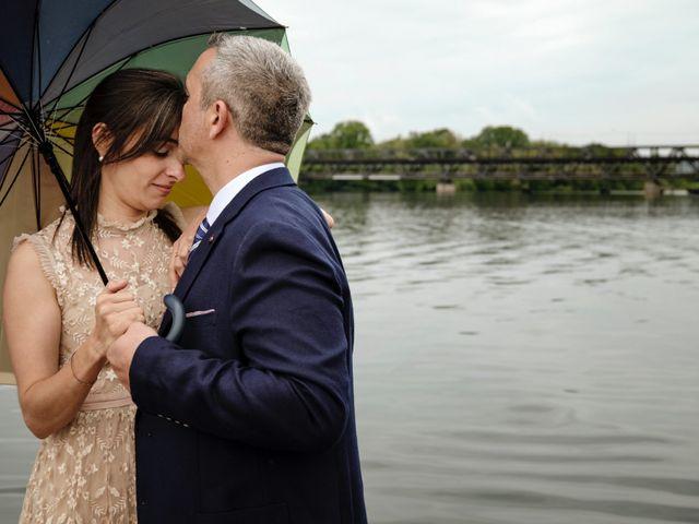 Il matrimonio di Alessandro e Estefania a Sesto Calende, Varese 37