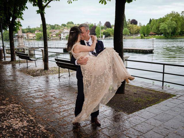 Il matrimonio di Alessandro e Estefania a Sesto Calende, Varese 41