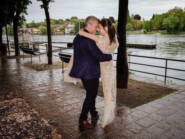 Il matrimonio di Alessandro e Estefania a Sesto Calende, Varese 42
