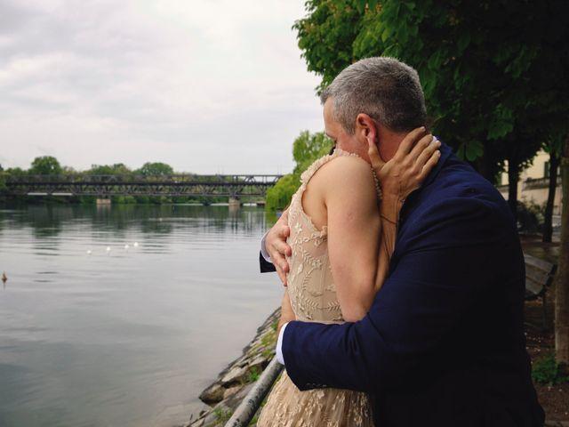 Il matrimonio di Alessandro e Estefania a Sesto Calende, Varese 43