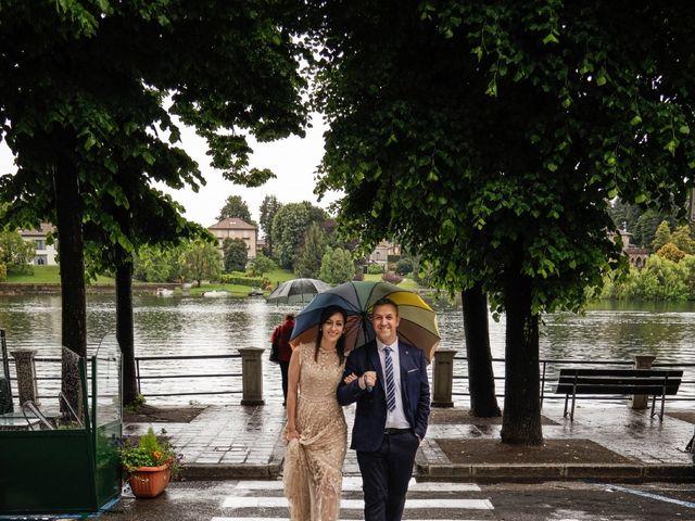 Il matrimonio di Alessandro e Estefania a Sesto Calende, Varese 50
