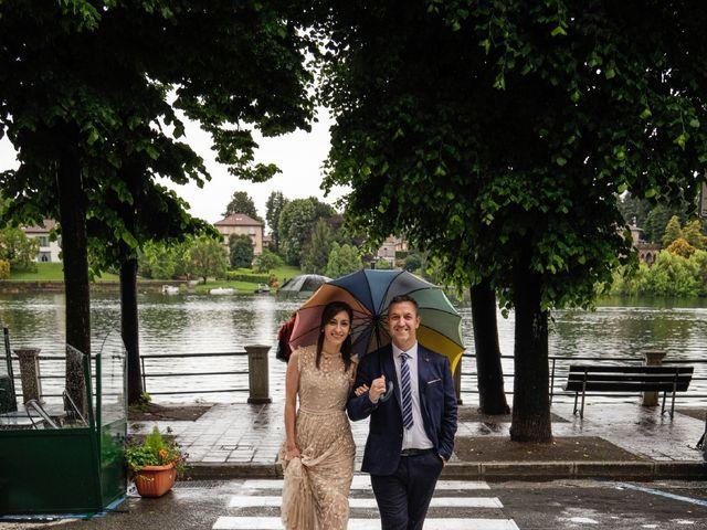 Il matrimonio di Alessandro e Estefania a Sesto Calende, Varese 51
