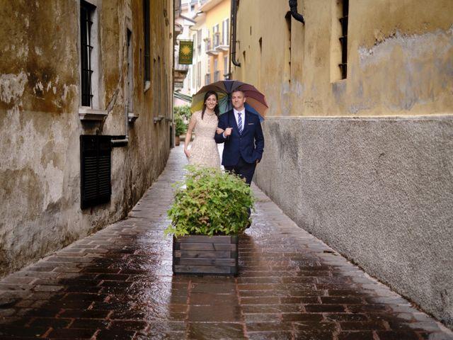 Il matrimonio di Alessandro e Estefania a Sesto Calende, Varese 22