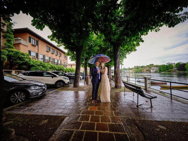 Il matrimonio di Alessandro e Estefania a Sesto Calende, Varese 35