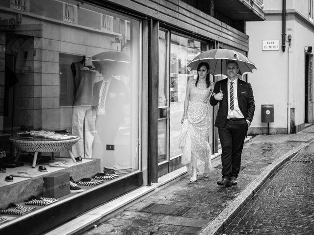 Il matrimonio di Alessandro e Estefania a Sesto Calende, Varese 52