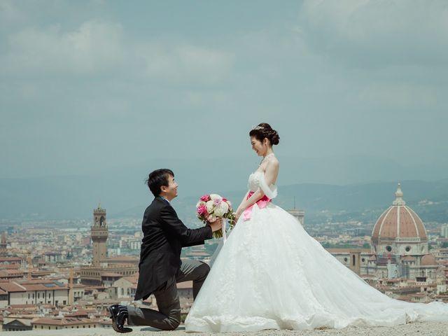 Le nozze di Shunsuke e Yuri
