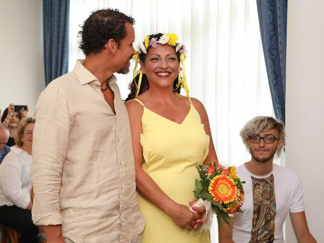 Il matrimonio di Felipe e Laura a Fiumicino, Roma 1