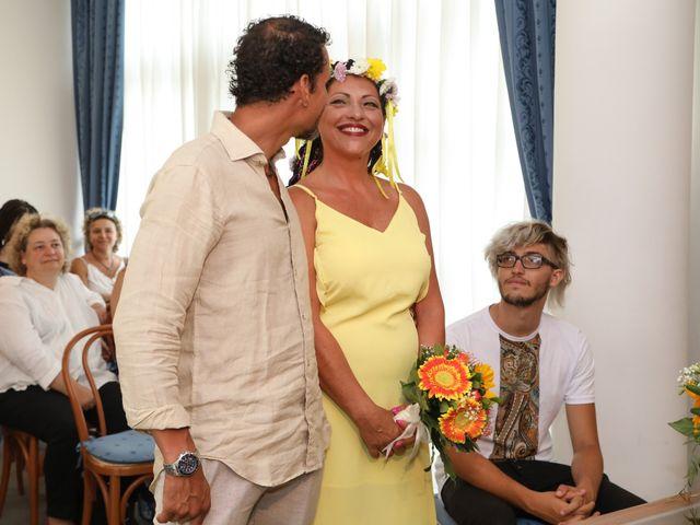 Il matrimonio di Felipe e Laura a Fiumicino, Roma 8